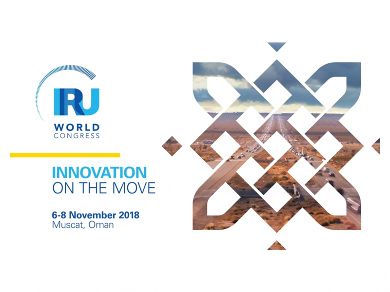 IRU World Congress – 6-8 November 2018 – Muscat, Oman