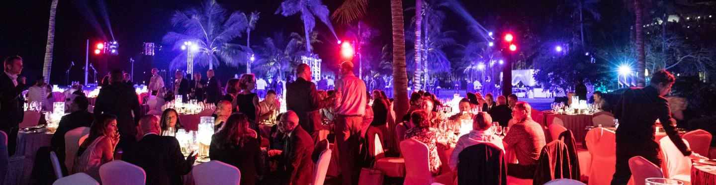 IRU World Congress gala dinner